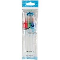 Aqua Flow Brush Set of 3