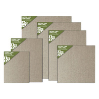 Natural Linen Canvas Panels 300gm