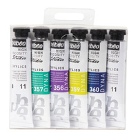 Pebeo Studio Acrylics Dyna Set 6 x 20ml