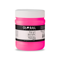 Global Acrylic Impasto 500ml - Fluoro