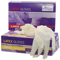 Latex Gloves Box of 100 - Disposable