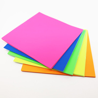 Kinder Paper Squares Fluoro - Pkt of 100