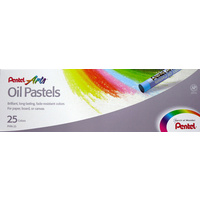 Pentel Oil Pastels Set of 25