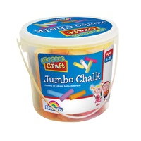 Jumbo Chalk Tub of 20