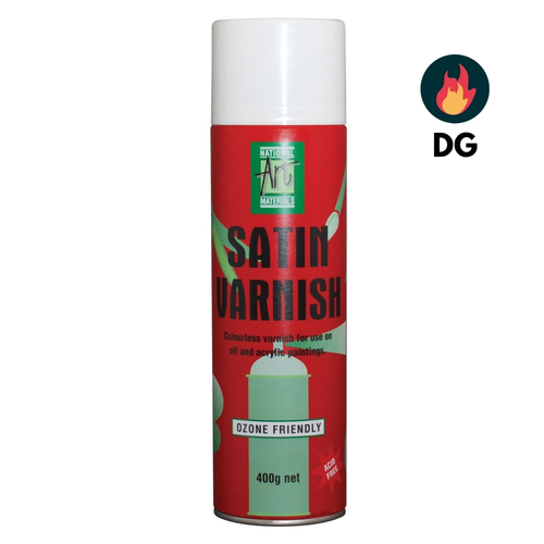 NAM Satin Spray Varnish 400g