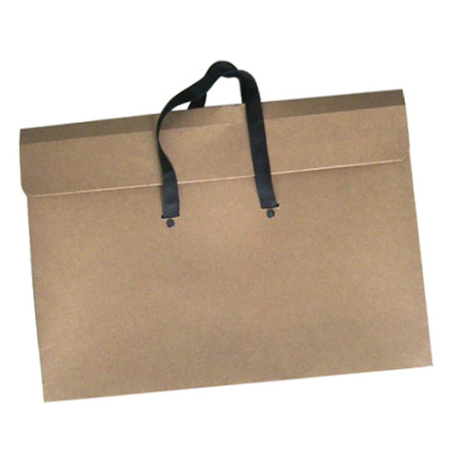 Kraft Folio Bag with Handles